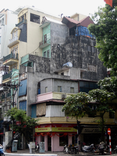 buildings in Hanoi
