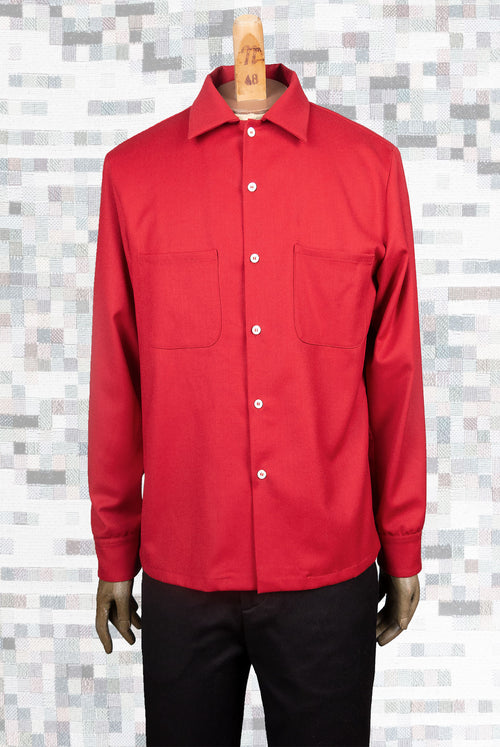 Forest Shirt (Red)