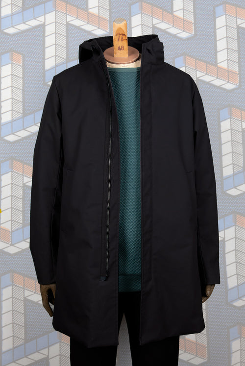 Anapo Coat (Black wax)
