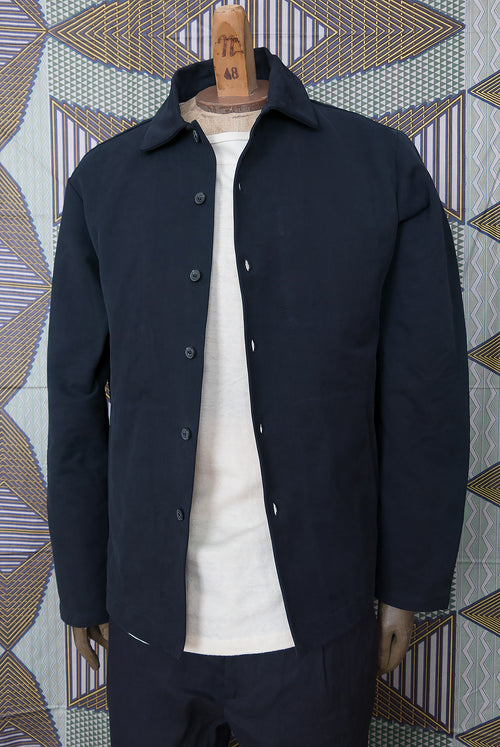 addeertz navy overshirt