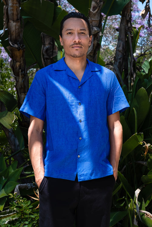 Wakame Shirt (Electric Blue)