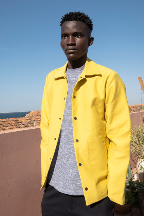 A.D.Deertz Overshirt yellow