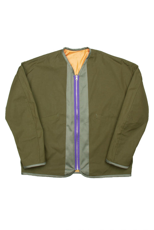 Khaya Jacket (orange/olive)
