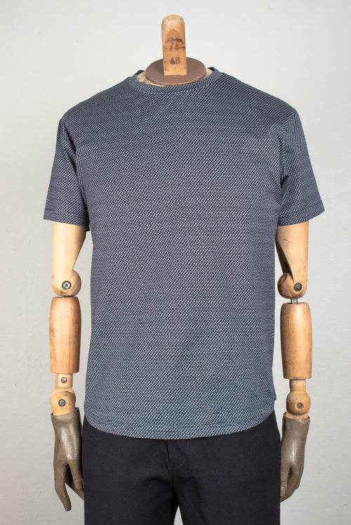 Kenaf T-Shirt (dark navy-grey)
