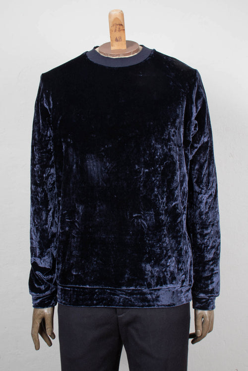 Poplar Sweater (Blue velvet)