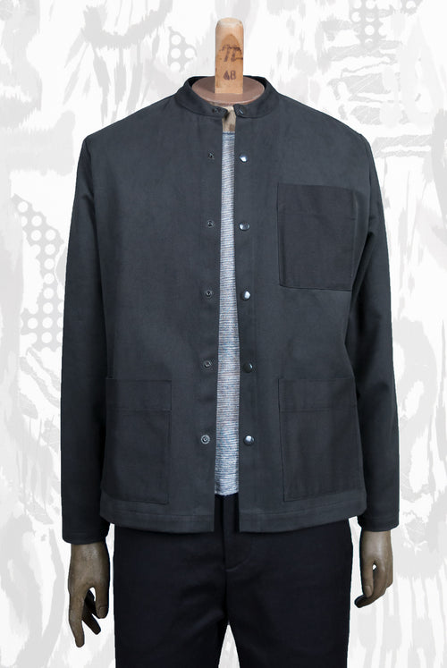 Tapi Shirt (Grey-Olive)