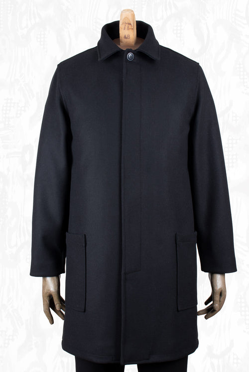 Arbor Coat (Black wool)