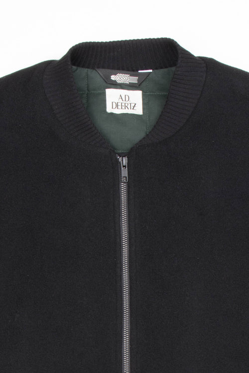 Cana Jacket (Black Wool)
