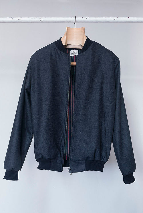 Cana Jacket (Grey Wool)