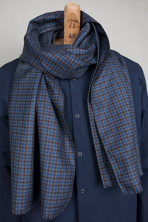 Ghemme Scarf (Checked)