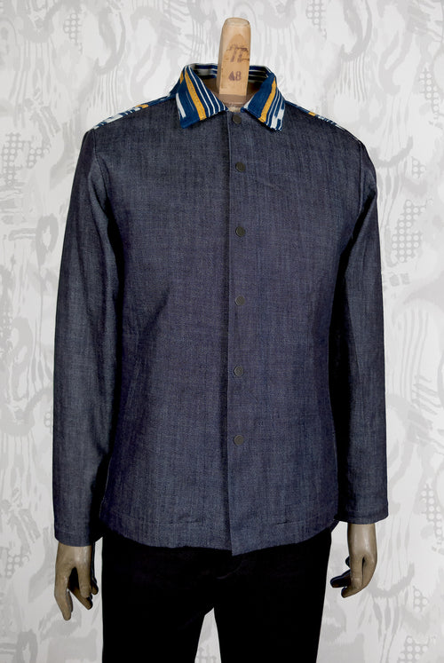 Assam Jacket (Baoule Denim)