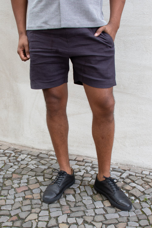 Kauri Shorts (Dark Slate Blue)