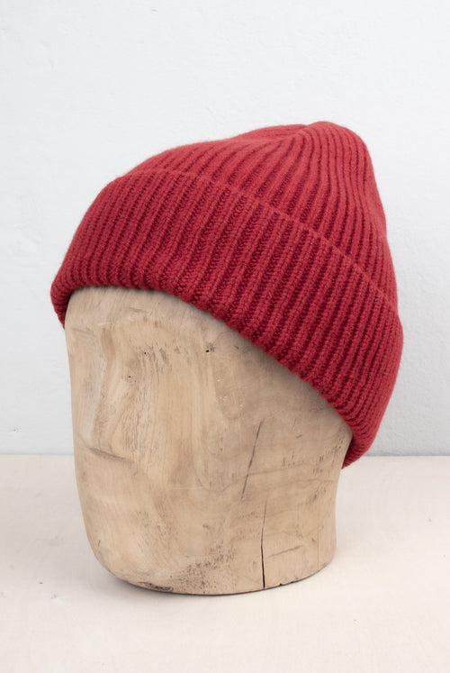 A.D.Deertz baltic beanie red wool