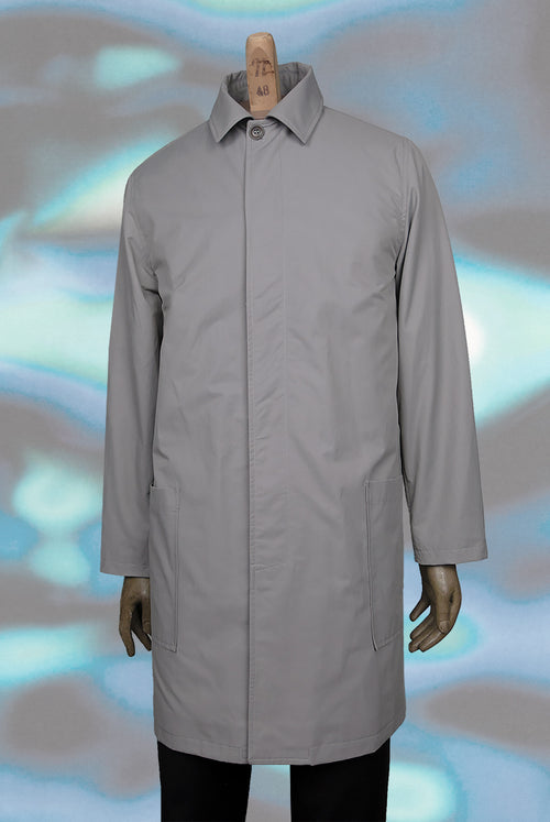 Balau Coat (Light Grey)