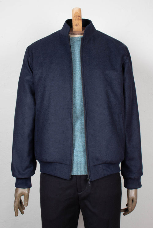 Rowan Jacket (navy wool)