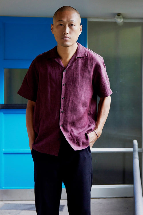 Wakame Shirt (Bordeaux)