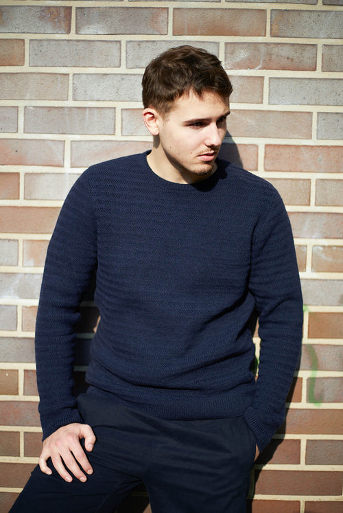 Willow Pullover (Navy)