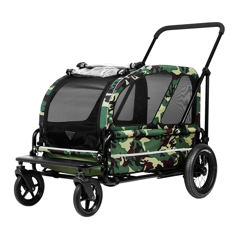 AirBuggy Carriage Camouflage front