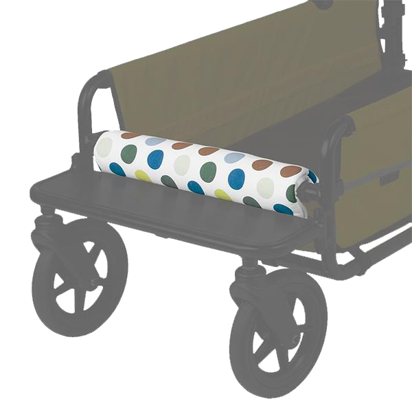 AirBuggy Carriage front bar cushion Multi Dot