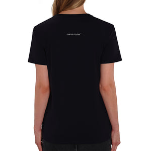 THE DOLL BLACK T-SHIRT FOR WOMEN - oneoffcouture