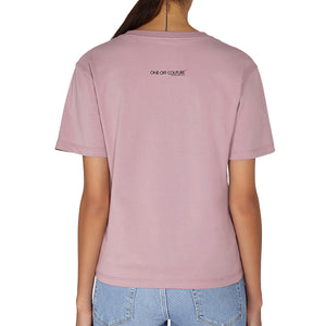 PINK MONA LUXURY DESIGNER T-SHIRT FOR WOMEN - oneoffcouture