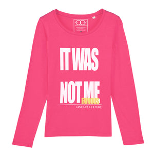PINK PINOCHIO LUXURY DESIGNER T-SHIRT FOR WOMEN - oneoffcouture