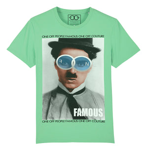 CHAPLIN LUXURY DESIGNER GRAPHIC T-SHIRT FOR MEN - oneoffcouture