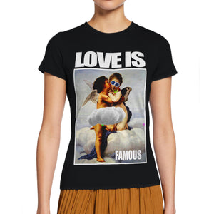 LOVE IS ONE OFF COUTURE T-SHIRT FOR WOMEN - oneoffcouture