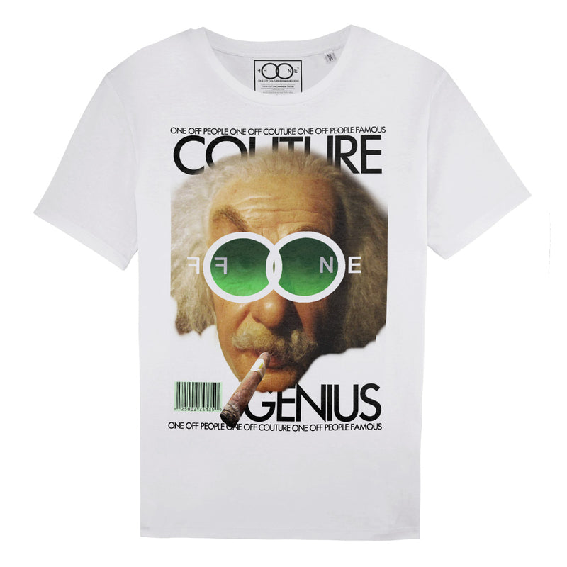 EINSTEIN LUXURY DESIGNER GRAPHIC T-SHIRT FOR MEN - oneoffcouture