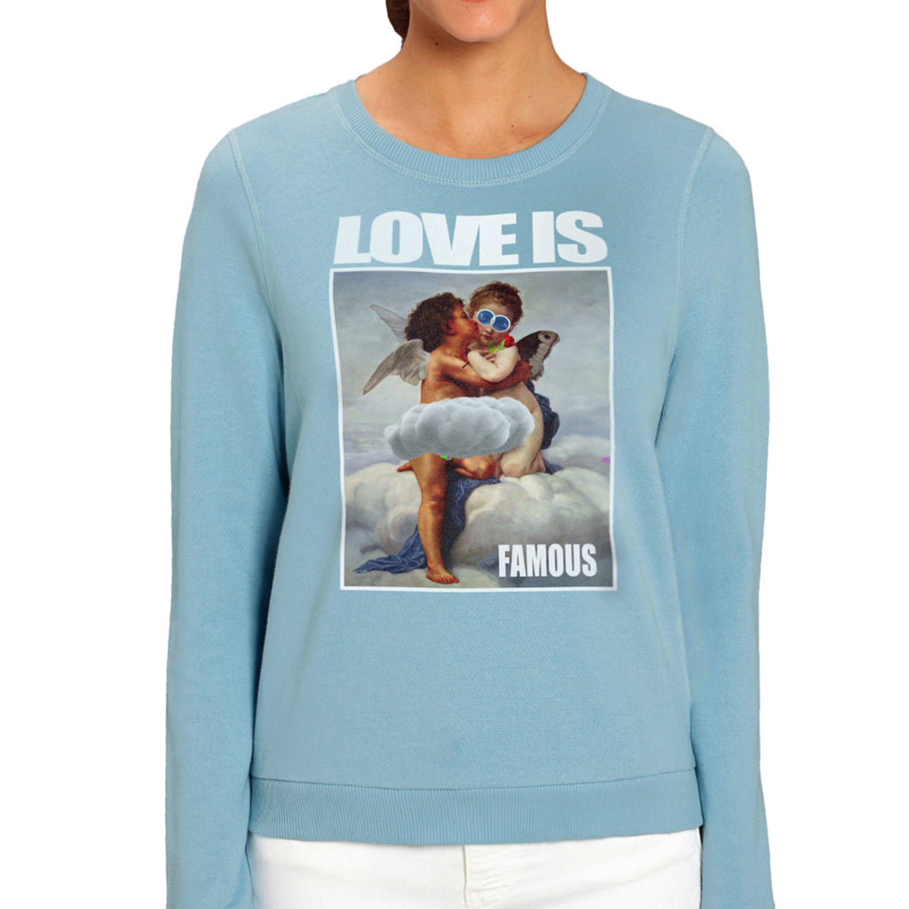 LOVE IS ONE OFF COUTURE SWEATSHIRT FOR WOMEN - oneoffcouture