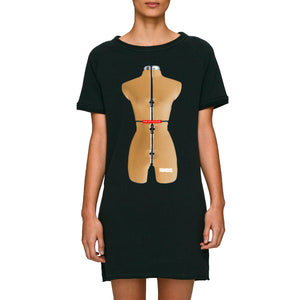 BLACK BODYFORM DRESS - oneoffcouture