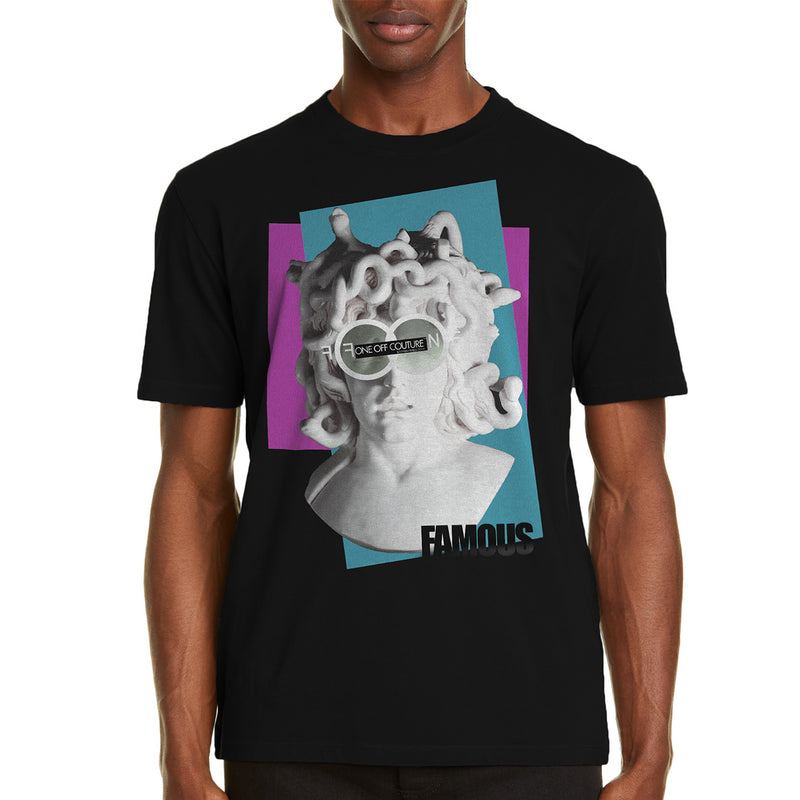 MEDUSA LUXURY DESIGNER GRAPHIC T-SHIRT - oneoffcouture
