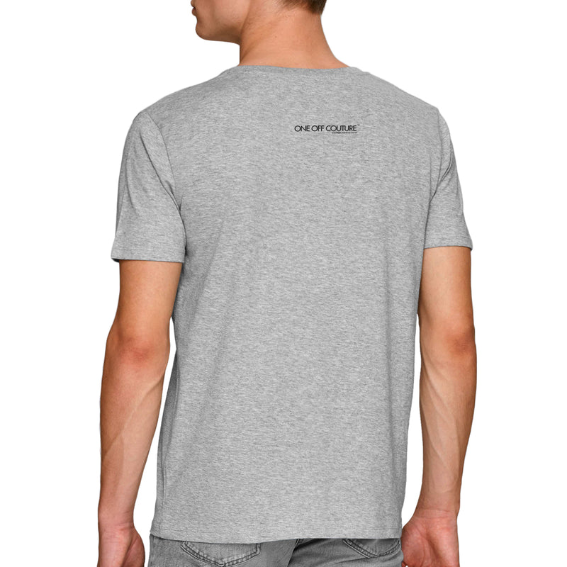 GREY MARILYN MONROE LUXURY DESIGNER GRAPHIC T-SHIRT FOR MEN - oneoffcouture
