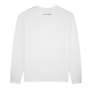 WHITE LUXURY DESIGNER SWEATER EASTER ISLAND - oneoffcouture