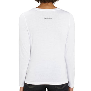 WHITE LUXURY DESIGNER T-SHIRT FOR WOMEN - oneoffcouture