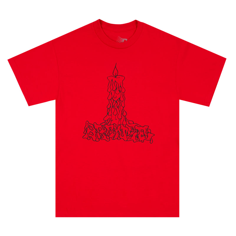 CANDLE TEE RED