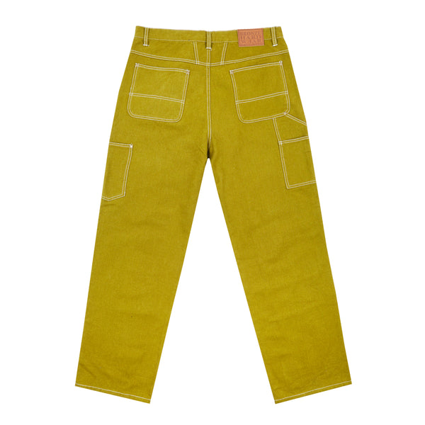 DUCK PANTS CHARTREUSE
