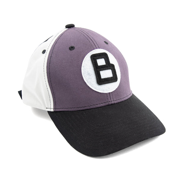 B BALL HAT PURPLE