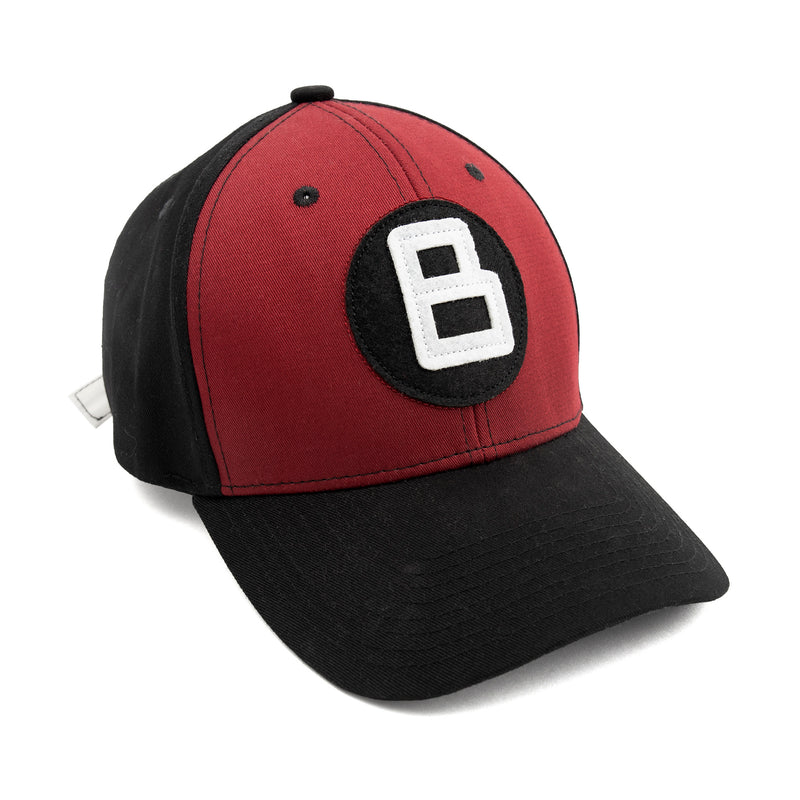 B BALL HAT RED