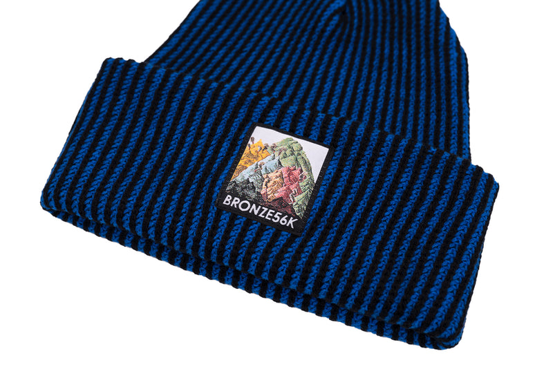 MOUNTAIN BEANIE BLUE