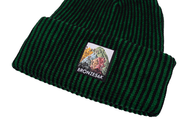 MOUNTAIN BEANIE GREEN