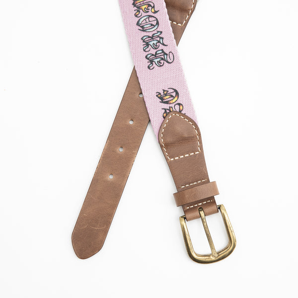 BRONZE ICY HOT BELT PINK