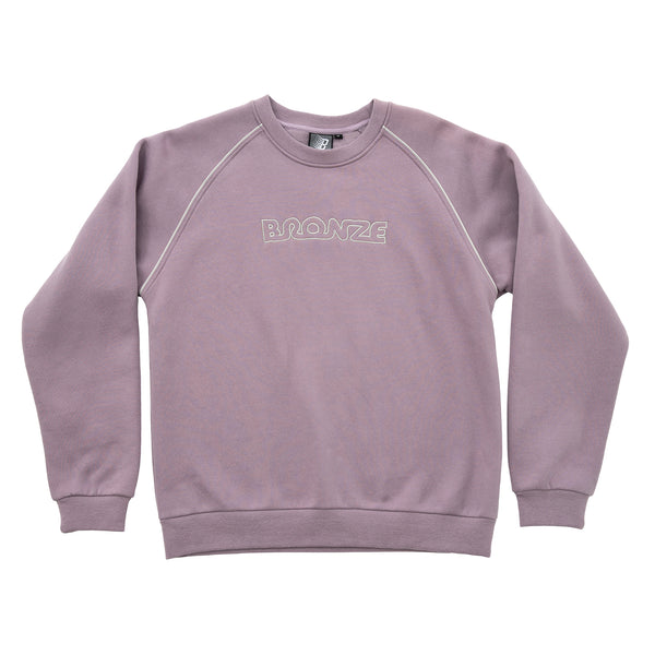 PIPE CREWNECK LIGHT PURPLE