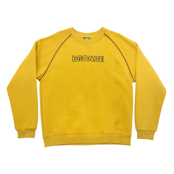 PIPE CREWNECK CHARTREUSE