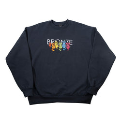 BOLT BOYS EMBROIDERED CREWNECK NAVY