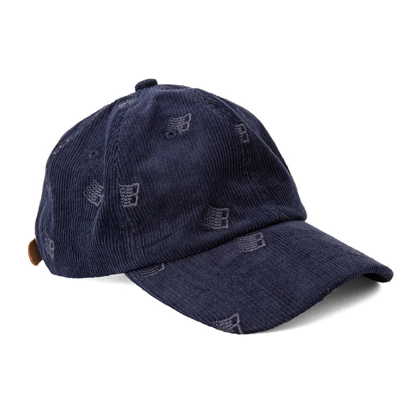 ALL OVER EMBROIDERED CAP NAVY