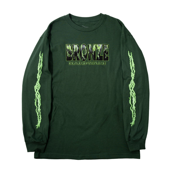 SHOCKER LONGSLEEVE FOREST GREEN