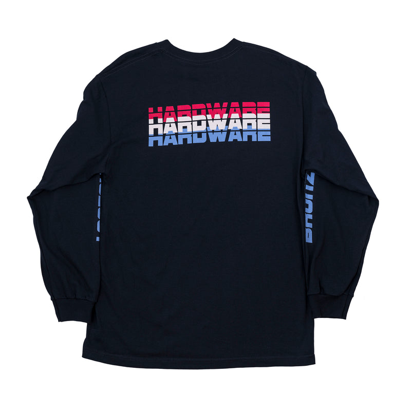 HARDWARE TECHNOLOGY LONGSLEEVE NAVY