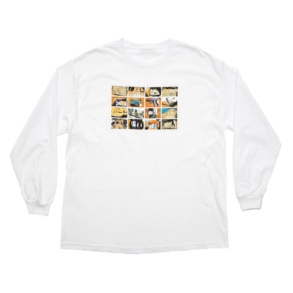 CONTRABAND L/S TEE WHITE