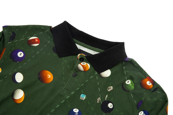 BILLIARD POLO GREEN